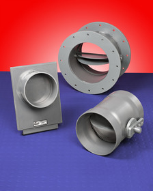 CSSI Backdraft Dampers come in three flow control types