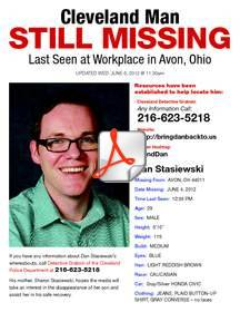 Missing Cleveland Man: Dan Stasiewski