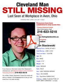 Missing Cleveland Man: Dan Stasiewski