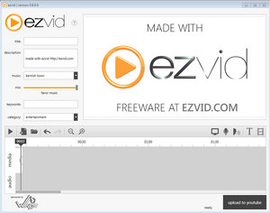 Ezvid Free Video Maker and Screen Recorder For Windows