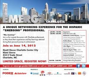 Emerge Charlotte Hispanic Business Networking Series