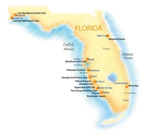 WCI Communities is currently marketing and building homes in 23 neighborhoods within 9 active communities in Florida