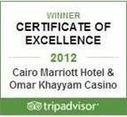 Trip Advisor Award Winning Cairo 5 Star Hotel