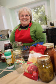 Shirley Camp - canning expert