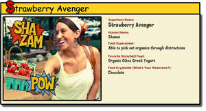 Stonyfield Food Superhero profile from Stonyfield's 'Know Your Food' campaign