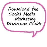 social media marketing disclosure, word of mouth marketing ethics