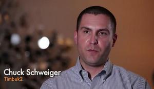 Wtach the video of PivotLink user Chuck Schweiger, Timbuk2.com