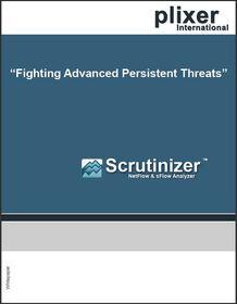 NetFlow, Plixer, cyber threats, whitepaper
