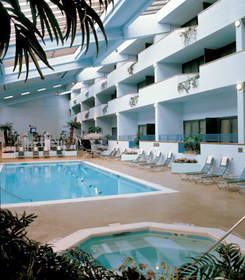 long island hotel with fitness center