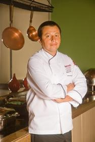Luis Cruzat is chef of the santiago marriott hotel restaurant