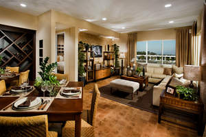 single level new homes, la new single level homes, gated single level homes