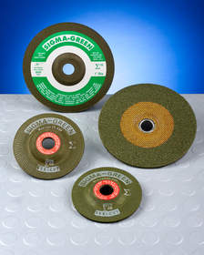 Rex-Cut(R) Sigma Green Premium Grinding Wheels