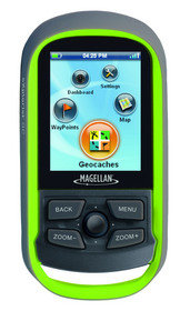 Magellan eXplorist GC handheld GPS device for geocaching