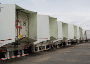 Fuel Efficiency Aerodynamic Technology for Tractor Trailers saving over 6.5% with TrailerTails
