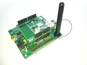 Sensor/lighting development board from JenNET-IP-EK040