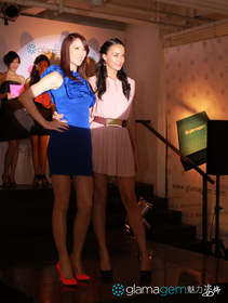 1)Lisa S and Qiqi officiated Glamagem's launch party in Shanghai on 14 July