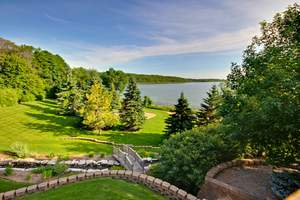 With an abundance of recreational opportunities, the Brentwood Estate offers a beach on Big Chippewa Lake, walking trails, landscaping, volleyball and tennis courts and a function malt shop.