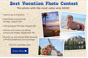 Best Vacation Photo Contest
