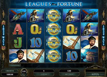 All Slots Casino presents Leagues of Fortune video slot