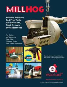 MILLHOG(R) Portable End Prep Tools Catalog