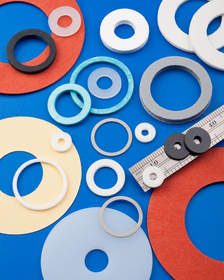 Interstate Non-Metallic Washers are precision die cut