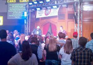 Chase Callahan Band with Mission El Reno participants