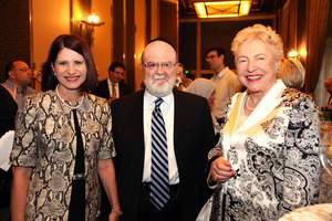 Marta Linares de Martinelli, Dr. Joshua Weinstein, Dame Stephanie Shirley
