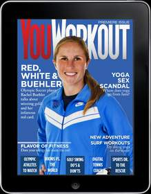 YouWorkout Premiere Issue featuring Rachel Buehler
