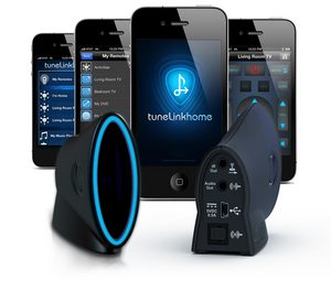 TuneLink Home for iPhone, iPad, iPod Touch and Android devices.