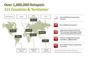 Global Wi-Fi network