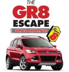 Super 8 GR8 Escape Logo