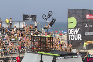 Kyle Baldock at Dew Tour Ocean City