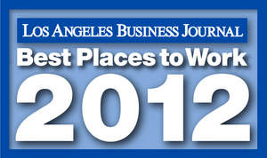 Los Angeles Busines Journal Best Places to Work