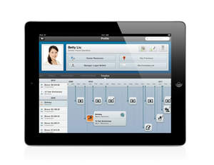 Workday for iPad(R) Employee timeline