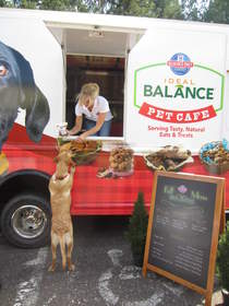 pet cafe food truck samples events Hill's Science Diet Ideal Balance