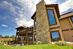 Rainbow's End, a four-bedroom estate just outside of Steamboat Springs, Colorado, will sell at auction on September 28 to the highest bidder above $635,000.