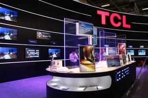 TCL Corporation showcased the iCE SCREEN at IFA 2012