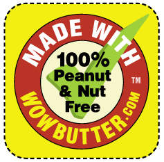 WOWBUTTER school lunch sticker