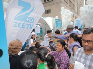 Zee TV at the India Day Parade