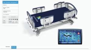 Kaon 3D Product Model of the Sizewise Navigator medical bed