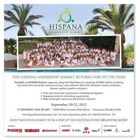Hispana Leadership Summit Sept. 20-22 at Turnberry Isle in Miami