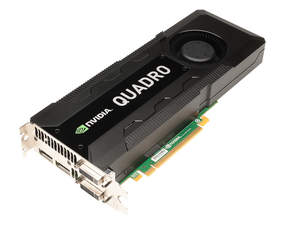 New NVIDIA Quadro K5000 for Mac - 3 quarter shot