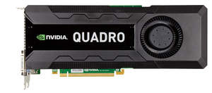New NVIDIA Quadro K5000 for Mac - front shot