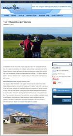 Cheapflights.com Top 10 Hazardous Golf Courses