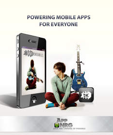Musician Davy Knowles custom mobile app by AppNRG.