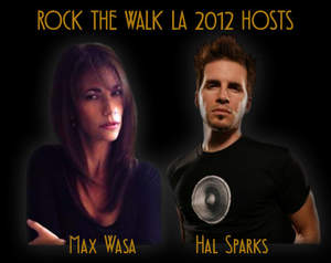 Max Wasa and Hal Sparks headline Rock The Walk LA Benefit Concert October 7 at The Mint LA to benefit AIDS Project LA and AIDS Walk LA.