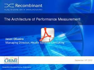 'Anatomy of a Healthcare Measure' presentation by Recombinant