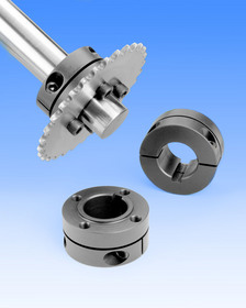 Stafford Accu-Mount(TM) Collars mount components to shafts