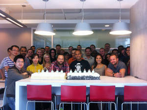 Sysomos team celebrates milestone of 100 billion indexed posts