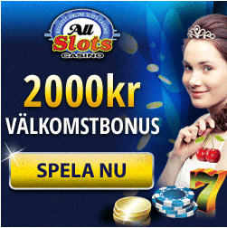 All Slots Casino - now in Swedish!